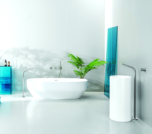 Ondyna, finition SX, robinetterie, salle de bain
