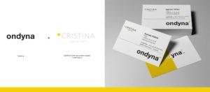 Logo, charte graphique, ondyna, cristina